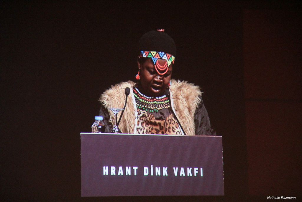 Theresa Kachindamoto, chef du district de Dedza au Malawi, lauréat 2016 du Prix International Hrant Dink