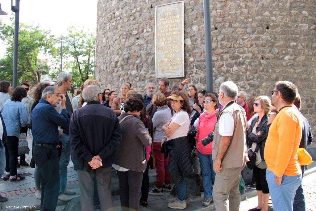 le quartier de Galata où les premiers Levantins sont venus s'installer à partir de 1453