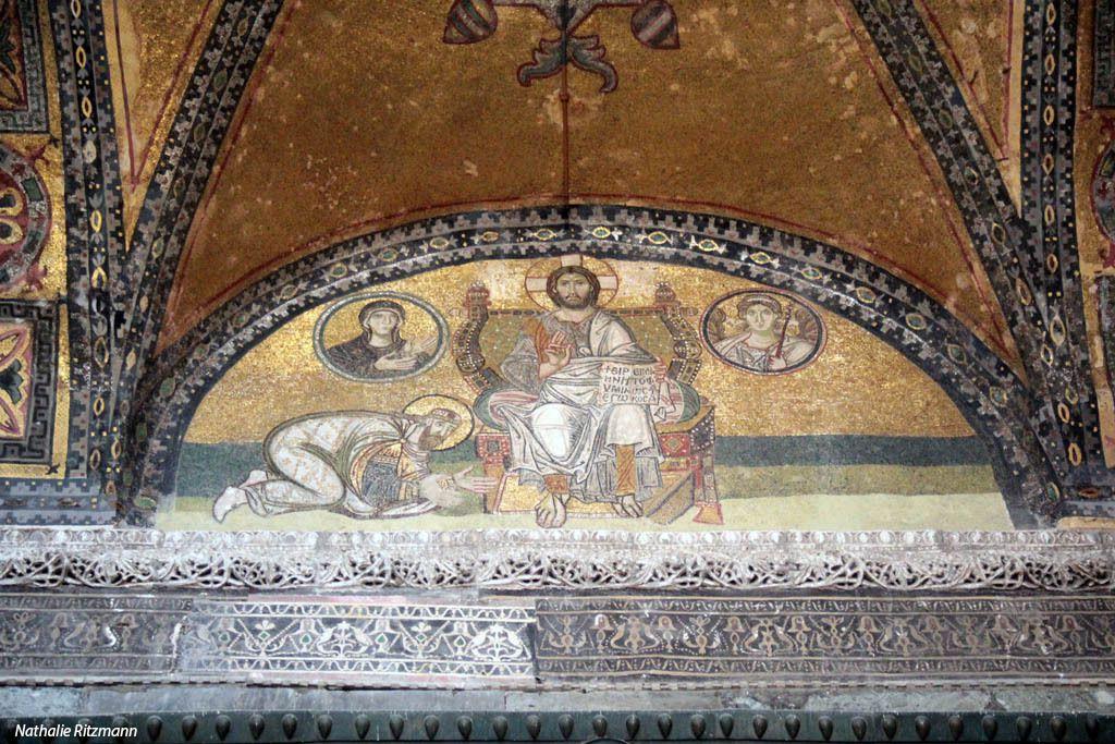 Mosaïques de Sainte-Sophie, Istanbul