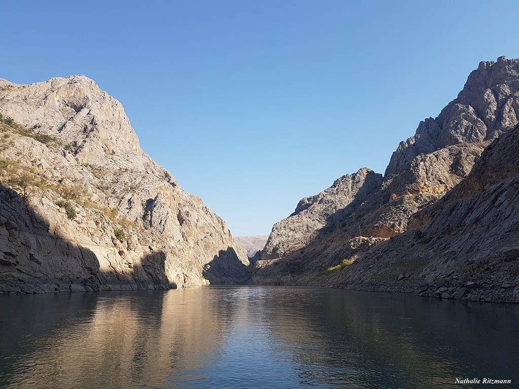 Karanlık kanyon à Kemaliye, province d'Erzincan en Turquie