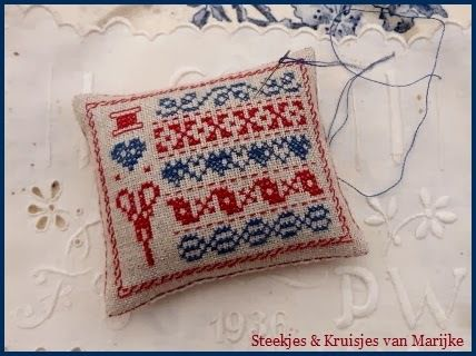 tricot broderie super a realiser