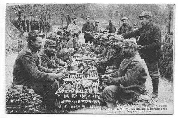 Repas entre poilus (1914)