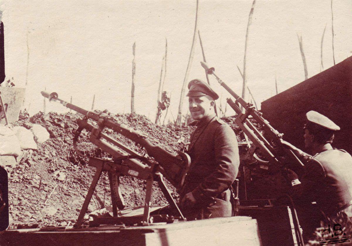 Chavalets de tir allemands
