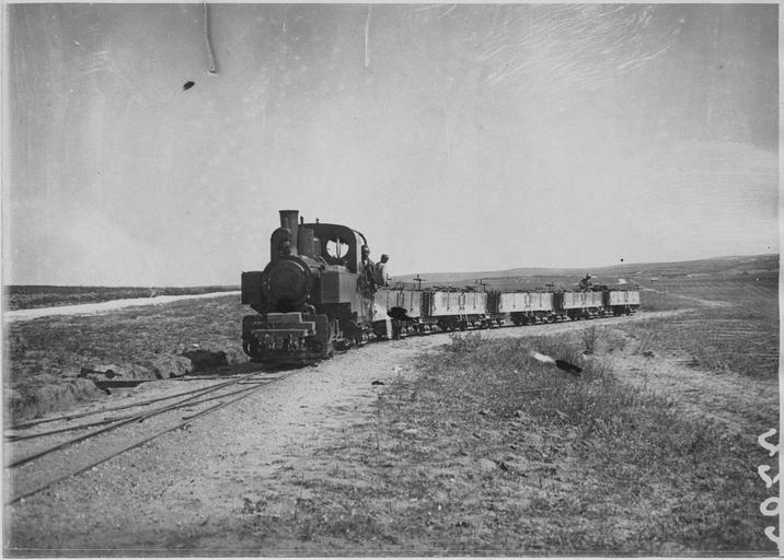 Un Decauville en 1916 (sur le front des Balkans)