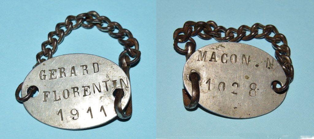 Médailles d'identité militaires françaises (Première Guerre mondiale)