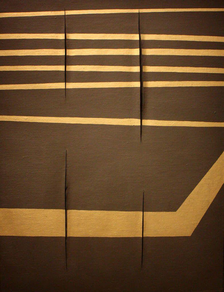 Lucio FONTANA - Musée d'Art Moderne - Paris - août 2014