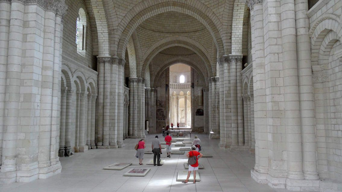 Abbaye de Fontevraud - sept. 2014