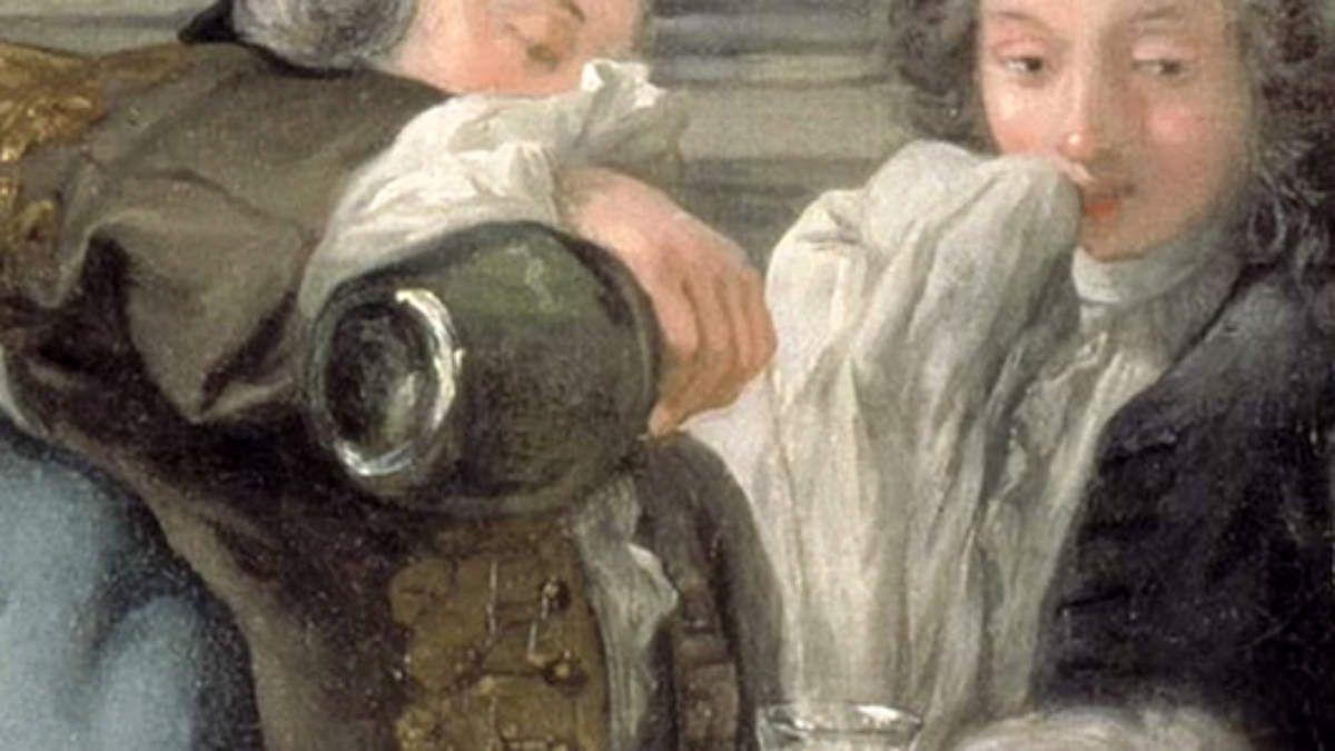 &quot&#x3B;Le déjeuner d'huitres&quot&#x3B; - Jean-François de Troy -