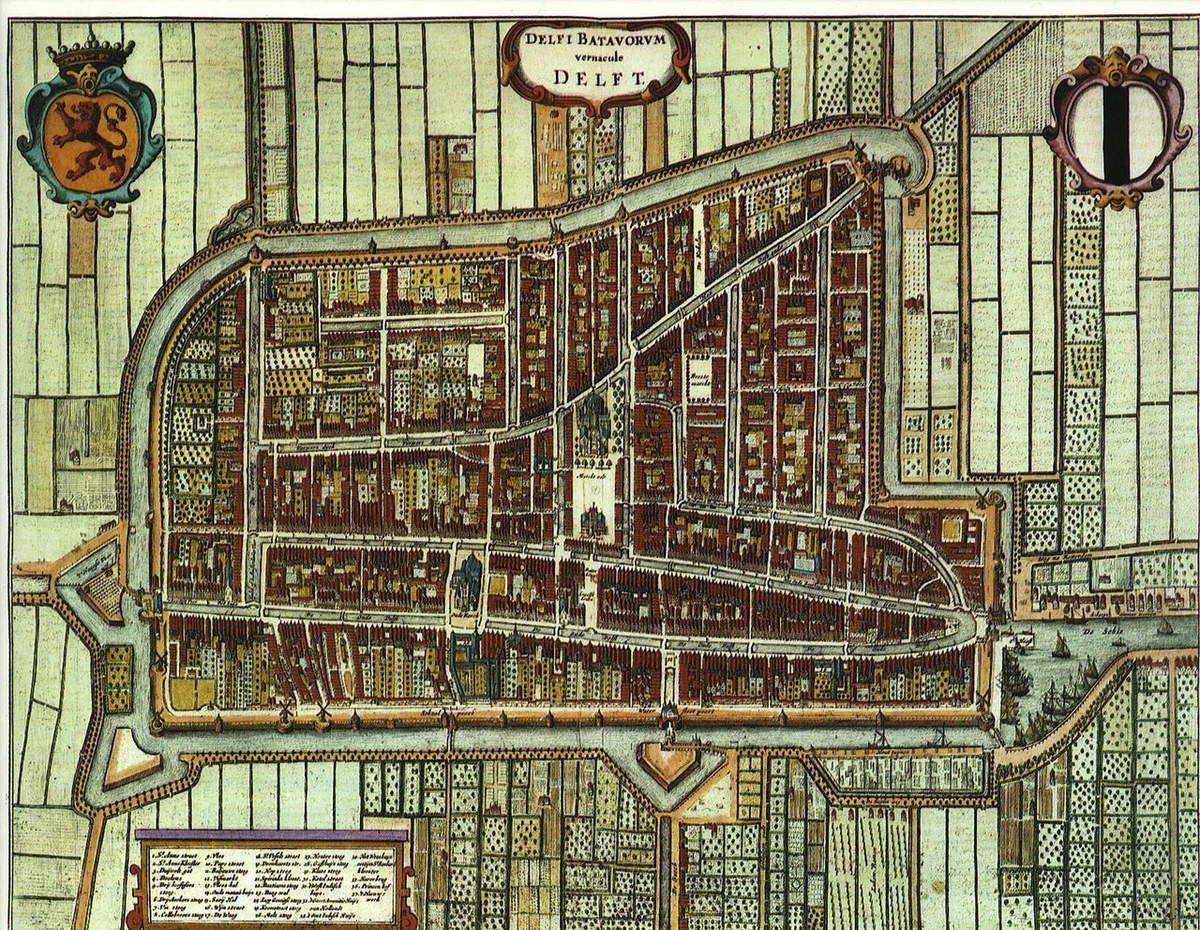 Plan de Delft - 1652