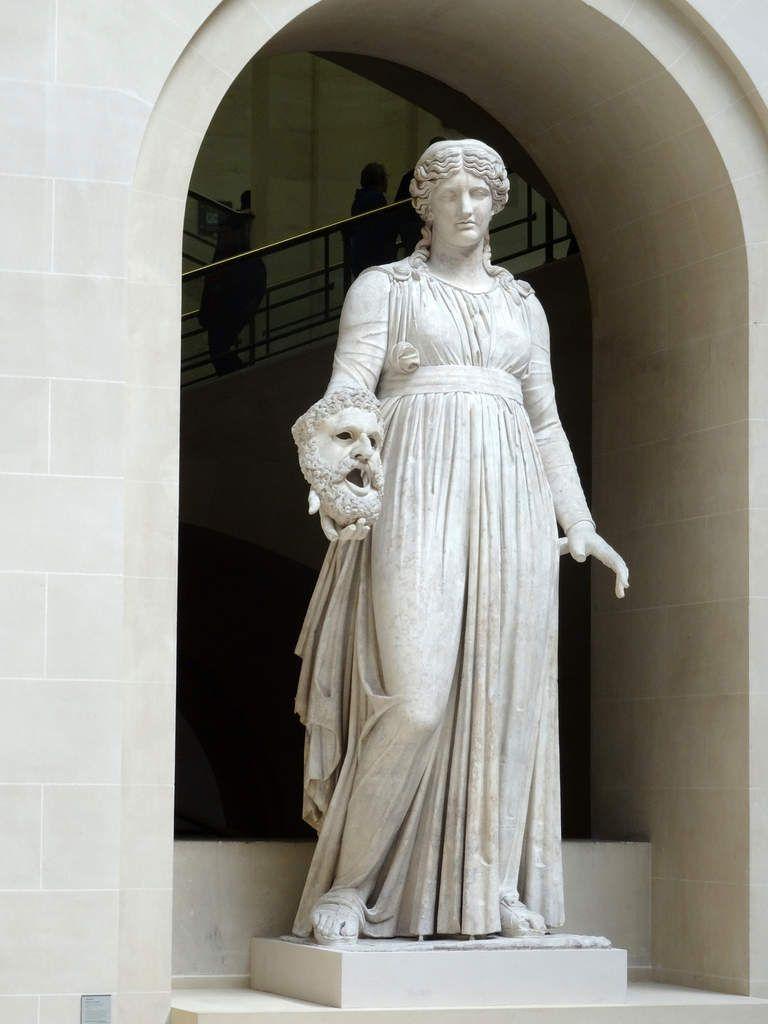 La cour du Sphinx - Musée du Louvre - mars 2015