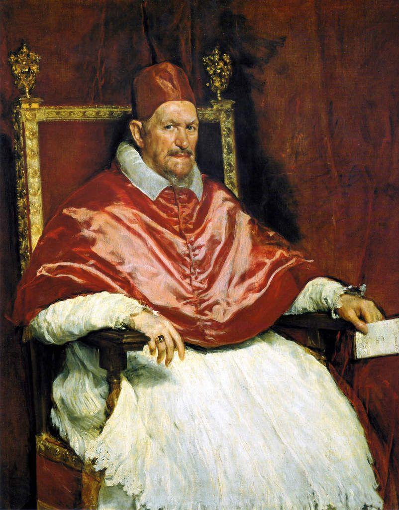 Portrait du pape Innocent X - 1650 - 140x120cm - Rome, Galleria Doria Pamphilj
