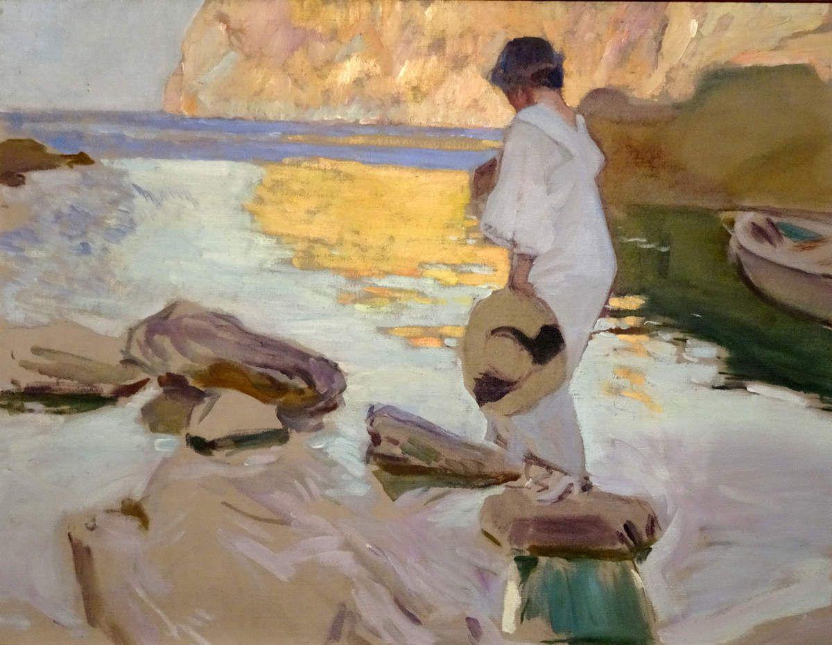 1919 - Elena à la Cale de Saint Vicente