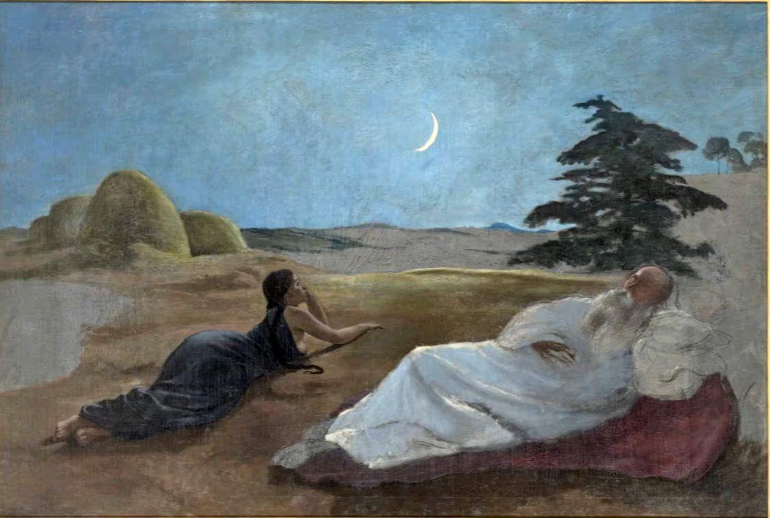 Ruth et Booz - 1870 - huile sur toile 138x202xm - Montpellier  Musée Fabre