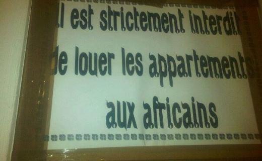 Racisme à Tanger où les noirs sont attaqués à la machette pour leur couleur de peau