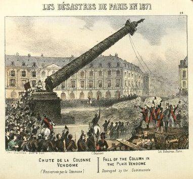 Quand les anarchistes de la Commune de Paris de 1871 incendiaient et détruisaient les archives parisiennes