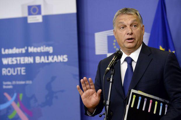 Viktor Orban estime l'Europe &quot&#x3B;trahie&quot&#x3B; par une &quot&#x3B;conspiration&quot&#x3B;