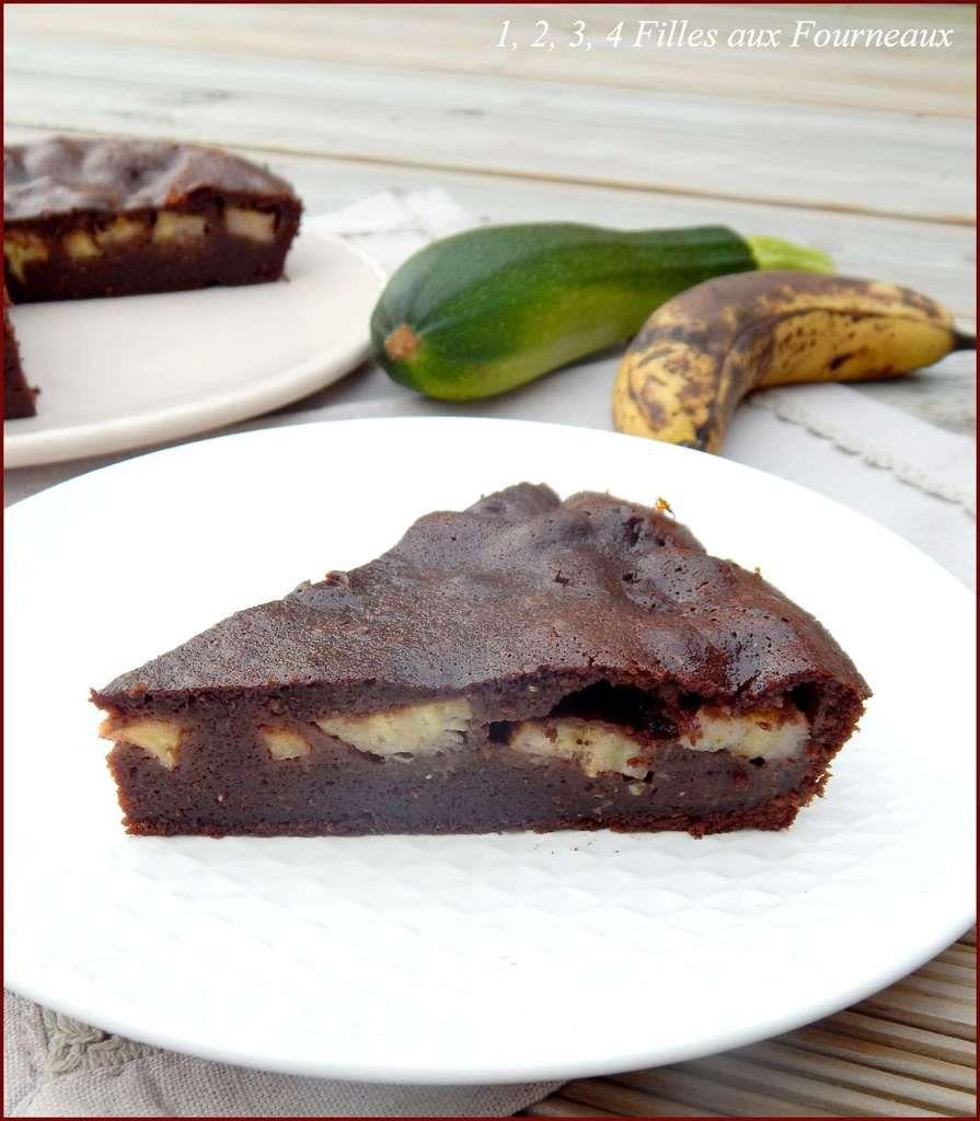 Fondant Chocolat - Banane (et courgette)