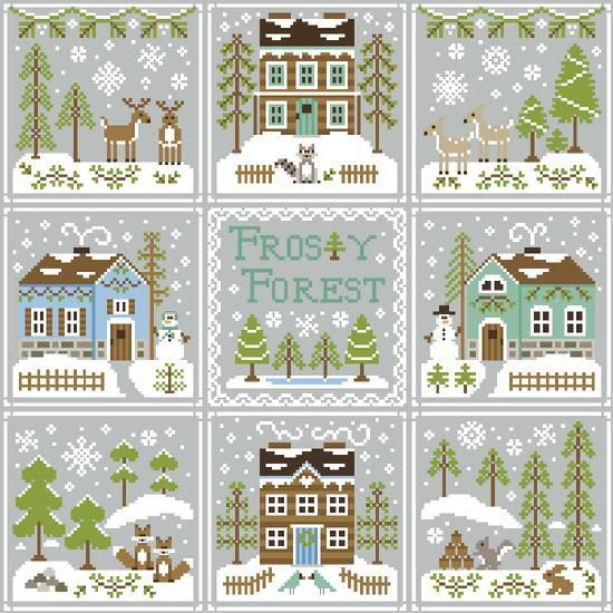 Country Cottage Needleworks. Novedades de agosto