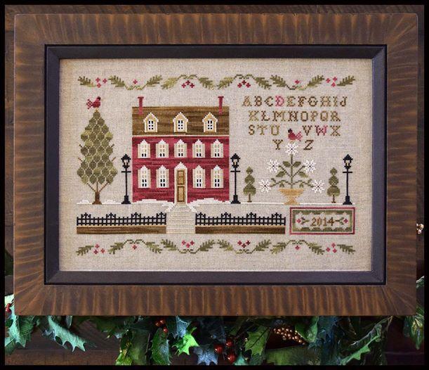 Little House Needleworks. Diseños de diciembre