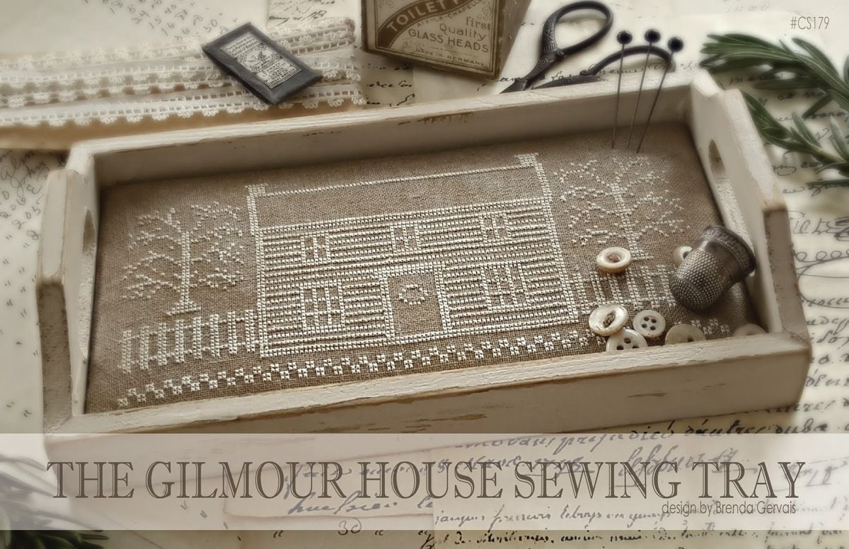 The Gilmour House Sewing Tray. With Thy Needle & Thread