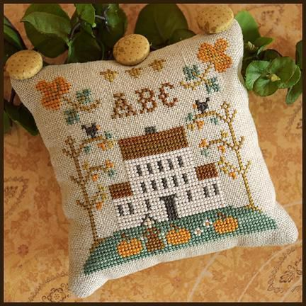 ABC Sampler: la nueva colección de Little House Needlewoks