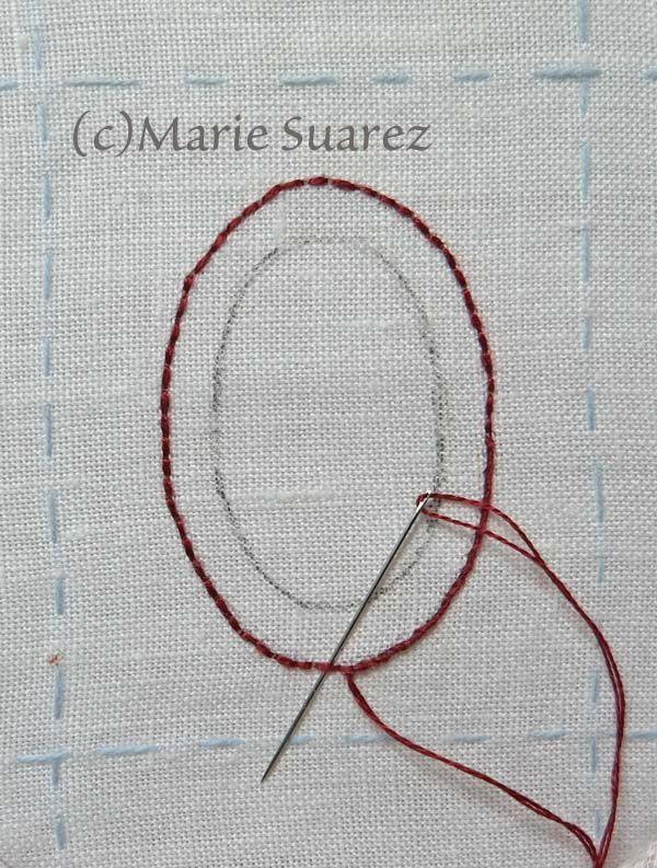 Brodez Avec Moi de Marie Suarez/ Etapa 5