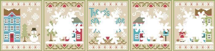 Snow Place Like Home: La nueva colección de Country Cottage Needleworks