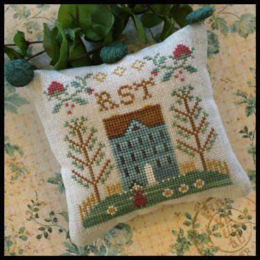 La colecciones de Little House Needleworks y Country Cottage Needleworks