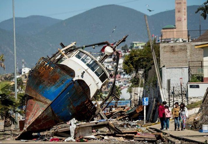 Chile: Terremoto 8.4° y Tsunami 16.09.2015