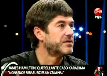 Chile: Caso Karadima / Testimonio de James Hamilton en Tolerancia Cero / Video Completo