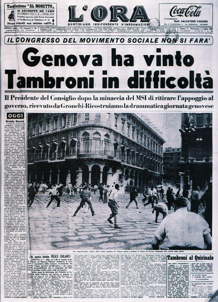 30 giugno 1960 a Genova