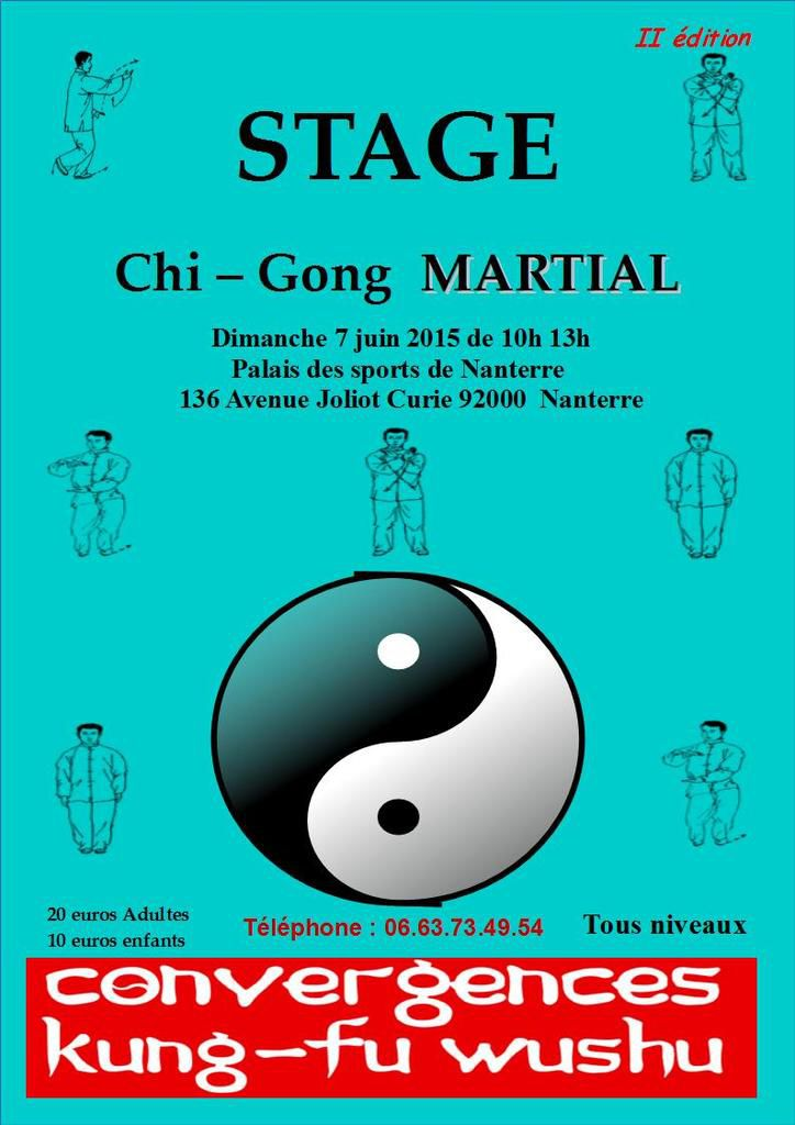 Chi-gong Martial le 7 juin 2015