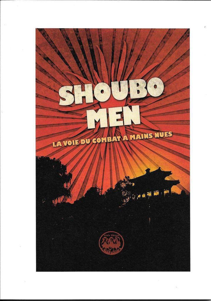 verso de la couverture du guide Shoubo Men