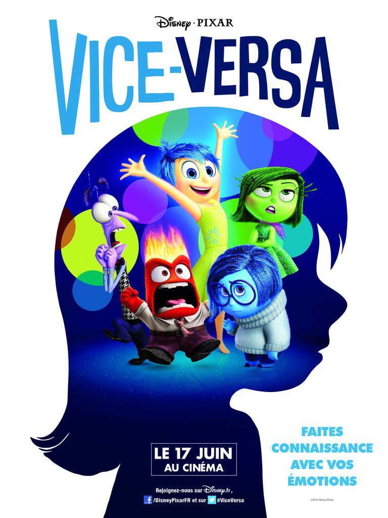Critique de l'animation VICE-VERSA de Pete Docter &amp&#x3B; Ronnie del Carmen (Etats Unis)