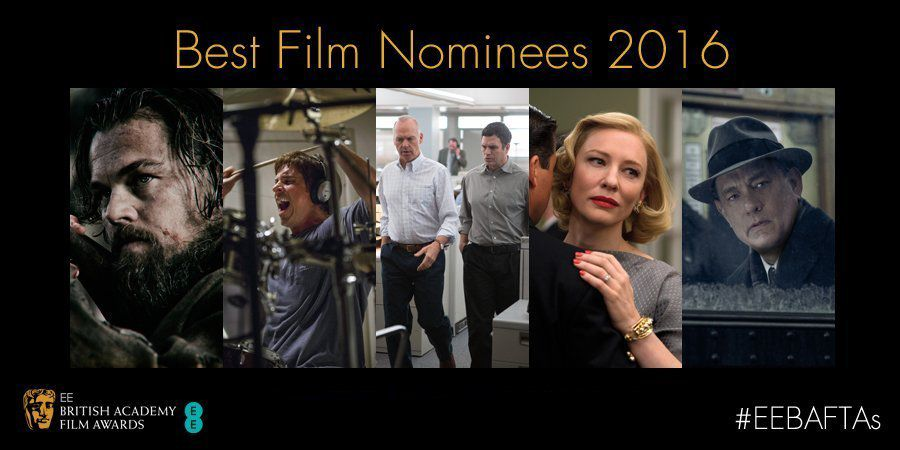 BAFTA 2016 : les nominations