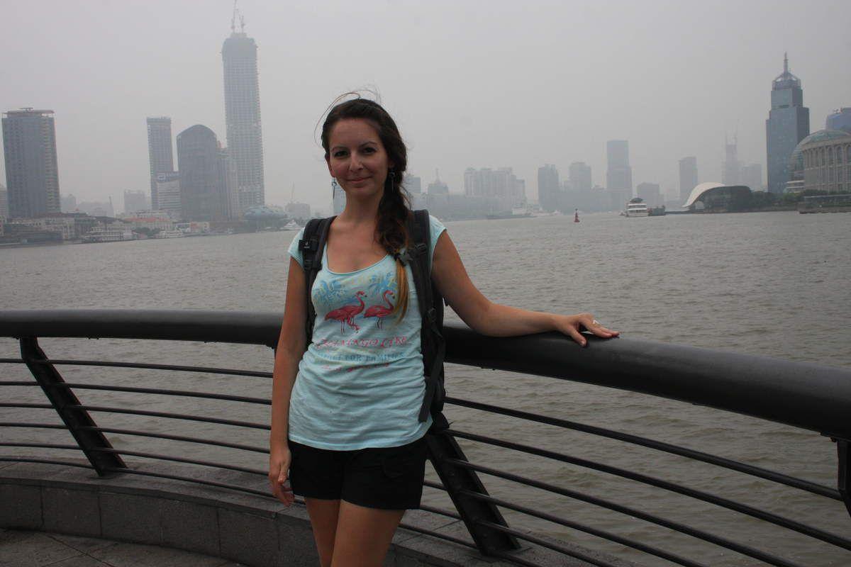 Bund mit Blick auf Pudong