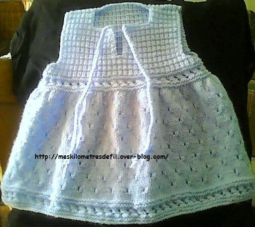 Robe chasuble 3mois, polychrome