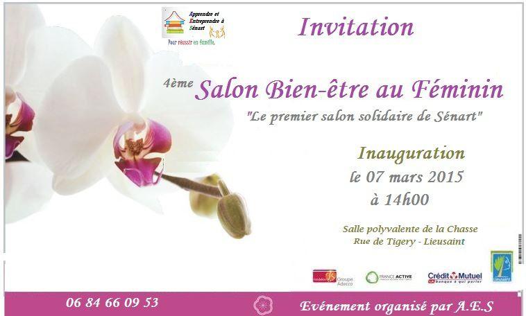 Salon bien tre au f minin 7 et 8 mars 2015 lieusaint for Salon spa et bien etre