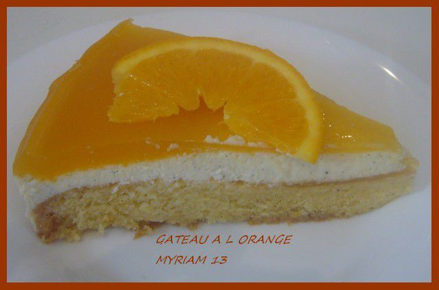 GATEAU A L ORANGE