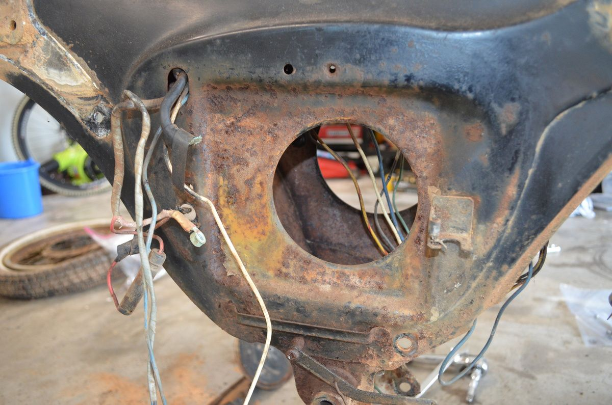 1965 Honda Ca95 Wiring