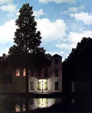 René Magritte - l'Empire des Lumières - 1954