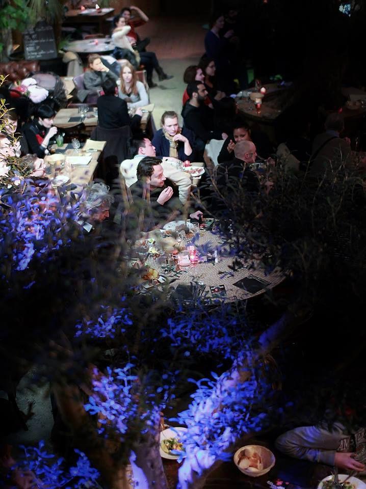 Olivier Nuc et Bertrand Louis lors de la dernière soirée LIVRE UNPLUGGED