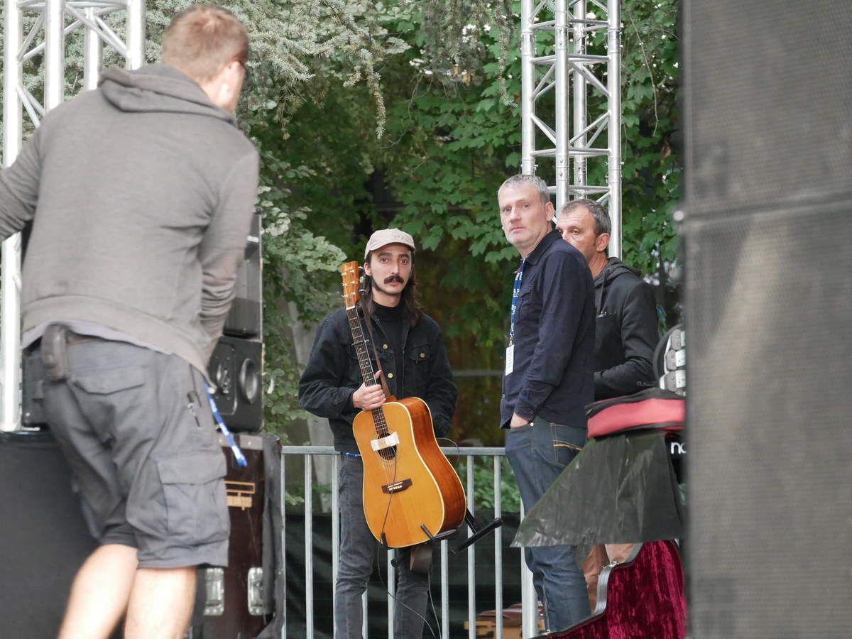 Bertrand Betsch et Raoul Vignal au Festival les Belles journées