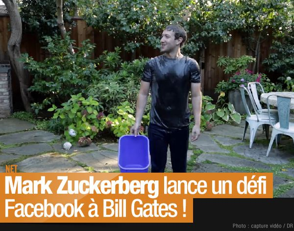 Mark Zuckerberg lance un défi Facebook à Bill Gates ! (mis à jour) #facebook