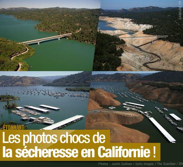 Les photos chocs de la sécheresse en Californie ! #Californie