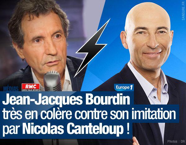 Jean-Jacques Bourdin très en colère contre son imitation par Nicolas Canteloup ! (mis à jour) #clash
