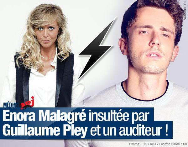 Enora Malagré insultée par Guillaume Pley et un auditeur ! (mis à jour) #clash