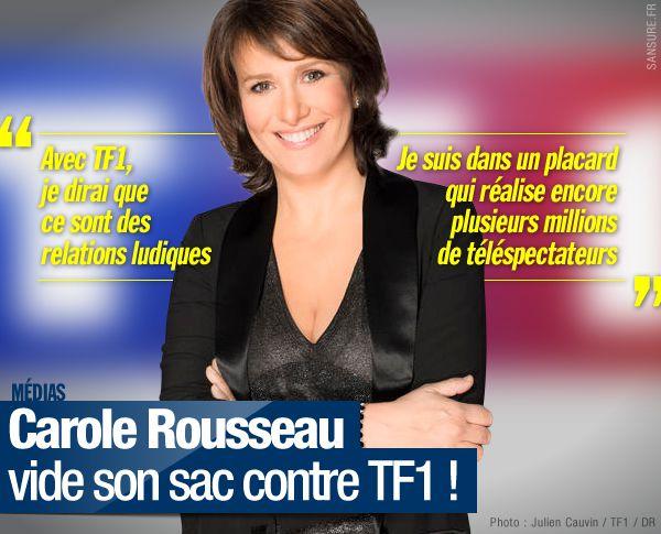 Carole Rousseau vide son sac contre TF1 ! #TF1
