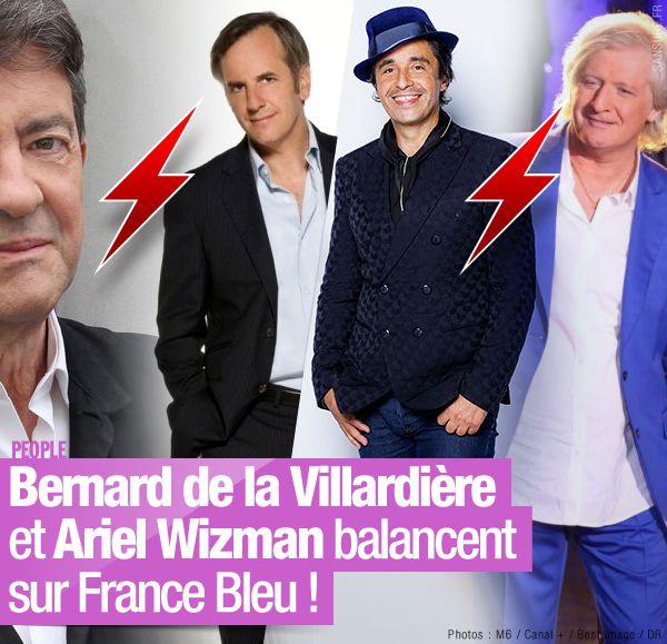Bernard de la Villardière et Ariel Wizman balancent sur France Bleu ! #Clash