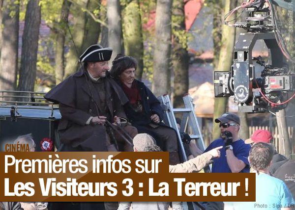 Premières infos sur Les Visiteurs 3 : La Terreur ! #LesVisiteurs3